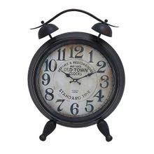 "MTL TABLE CLOCK 25""H, 19""W"