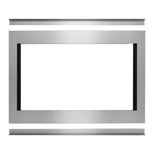 """Whirlpool30"""" Traditional Convection Microwave Trim Kit Stainless Steel"""