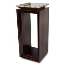 Sergio Accent Table W/ebony Tall (2 Pc)