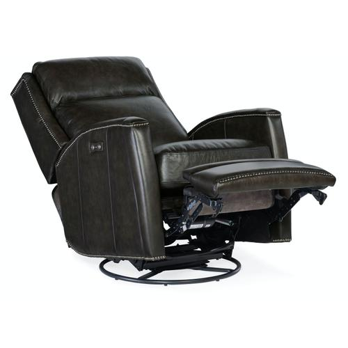 Living Room Declan PWR Swivel Glider Recliner
