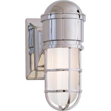 E. F. Chapman Marine 1 Light 5 inch Chrome Bath Wall Light