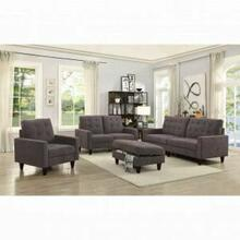 ACME Nate Sofa - 50250 - Chocolate Fabric