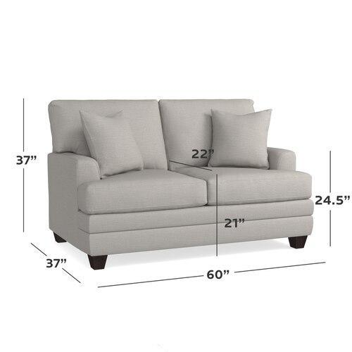 CU.2 Loveseat, Arm Style Sock
