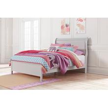 Jorstad - Gray 2 Piece Bed (Full)
