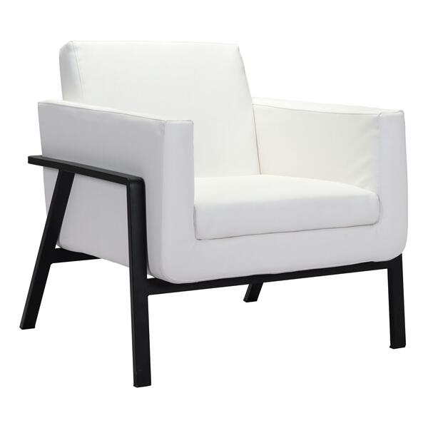 See Details - Homestead Lounge Chair White