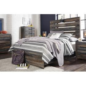 Drystan Full Bookcase Bed With 4 Storage Drawers