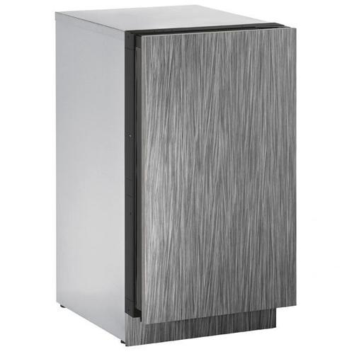 """U-Line - 3018clr 18"""" Clear Ice Machine With Integrated Solid Finish, Yes (115 V/60 Hz Volts /60 Hz Hz)"""