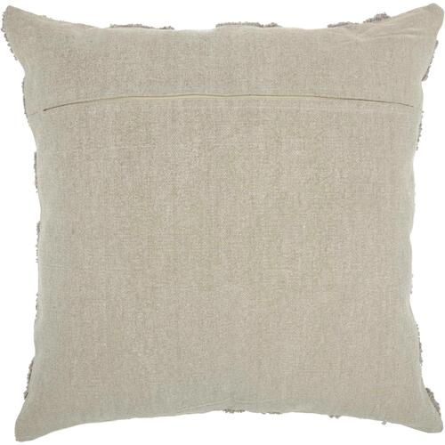 "Life Styles Gt747 Khaki 24"" X 24"" Throw Pillow"