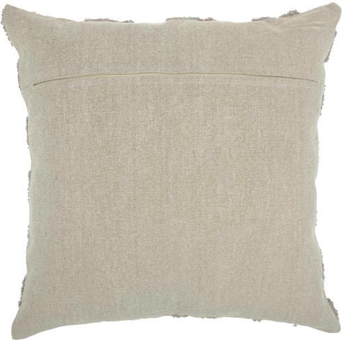 """Life Styles Gt747 Khaki 24"""" X 24"""" Throw Pillow"""
