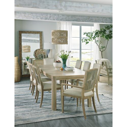 Hooker Furniture - Surfrider Rectangle Dining Table w/1-18in leaf