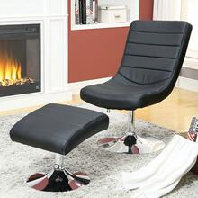 See Details - Valerie Lounge Chair W/ Ottoman