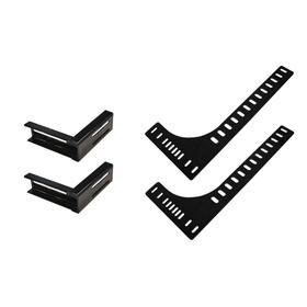 Headboard Bracket Kit for 2-Piece Furniture Style Bases (TXL/FXL/Q)
