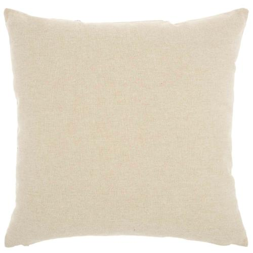 """Natural Leather Hide Pn754 Grey Silver 18"""" X 18"""" Throw Pillow"""