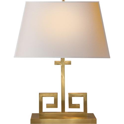 - Alexa Hampton Kate 24 inch 60.00 watt Natural Brass Decorative Table Lamp Portable Light