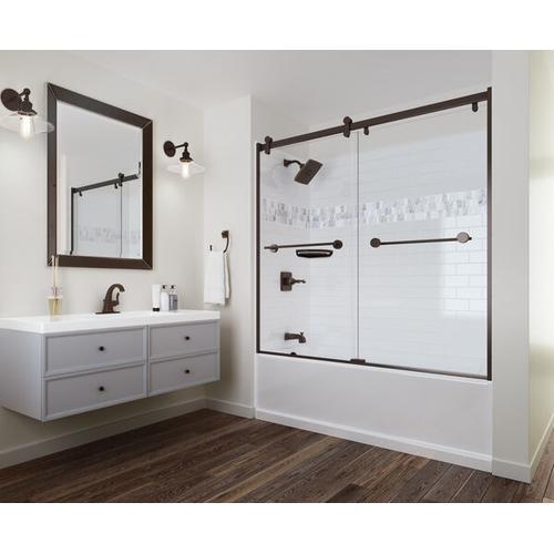 """High Gloss White 60"""" x 32"""" Bathtub - Left Drain"""