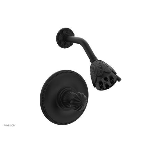 Phylrich - GEORGIAN & BARCELONA Pressure Balance Shower Set - Round Handle PB3361 - Matte Black