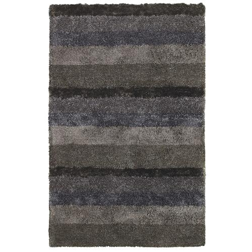 Skyline Shag Grey Multi Hand Tufted Rugs