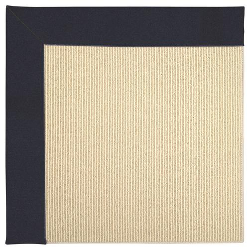 Creative Concepts-Beach Sisal Canvas Navy Machine Tufted Rugs