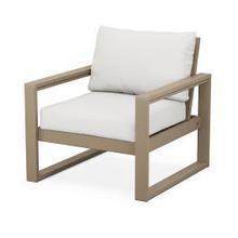 EDGE Club Chair in Vintage Sahara / Natural Linen