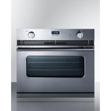 """See Details - 30"""" Wide Gas Wall Oven"""