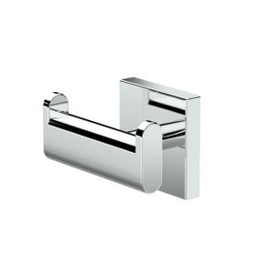 Elevate Double Robe Hook in Chrome Product Image