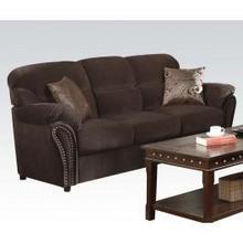 See Details - Velvet Sofa W/2pil @n