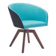 Wander Swivel Dining Chair Blue/gray