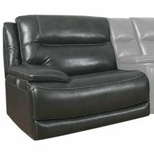 See Details - COLOSSUS - NAPOLI GREY Power Left Arm Facing Recliner