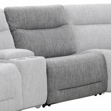 See Details - APOLLO - WEAVE GREY Manual Armless Recliner
