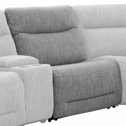 Parker House - APOLLO - WEAVE GREY Manual Armless Recliner