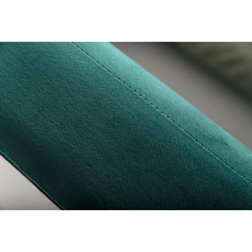 VIG Furniture - Nova Domus Durango Modern Green Fabric & Walnut Bed