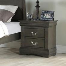 DARK GRAY NIGHTSTAND