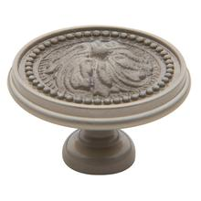 Satin Nickel Ornamental Knob