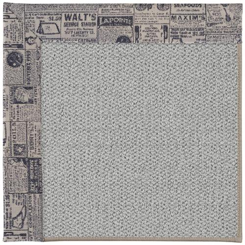 "Inspire-Silver The Daily Ink - Rectangle - 18"" x 18"""