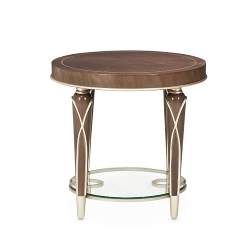Villa cherie End Table Hazelnut