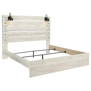 Cambeck Whitewash King Bed