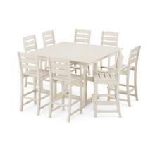 View Product - Lakeside 9-Piece Bar Side Chair Set in Sand