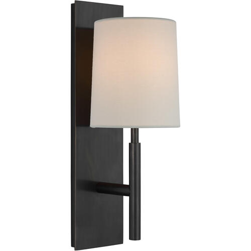 Barbara Barry Clarion LED 6 inch Bronze Sconce Wall Light, Medium