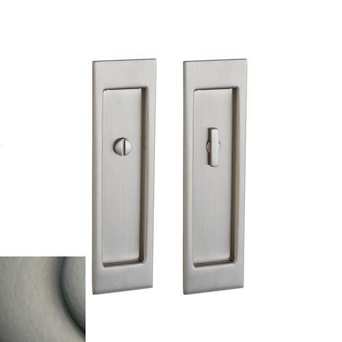 Baldwin - Antique Nickel PD005 Large Santa Monica Pocket Door