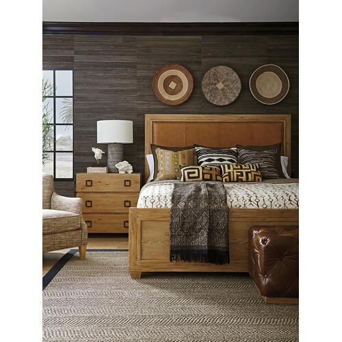 Antilles Upholstered Panel Bed California King Headboard