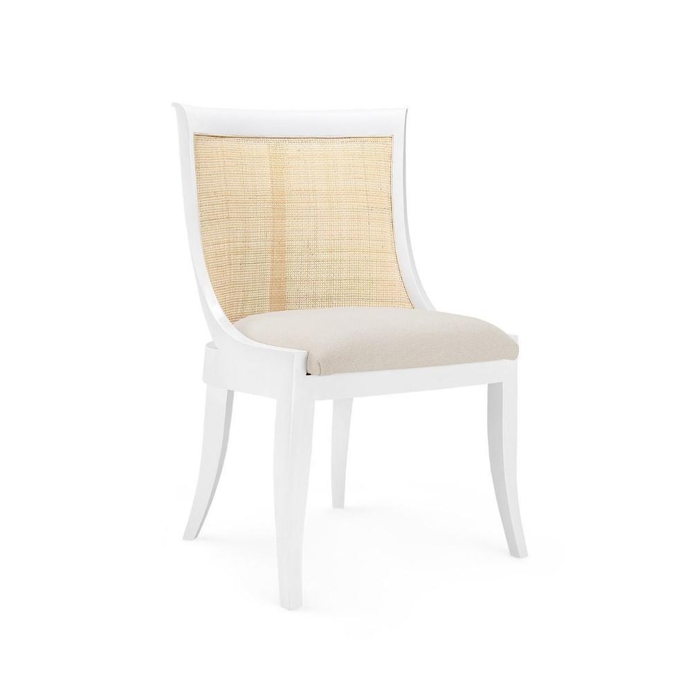 Monaco Armchair, White