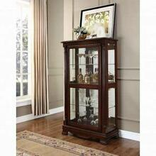 ACME Carrie Curio Cabinet - 90066 - Cherry