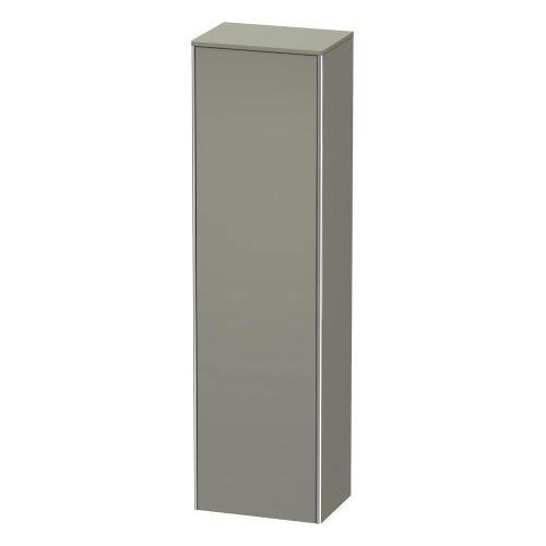 Duravit - Tall Cabinet, Stone Gray Satin Matte (lacquer)