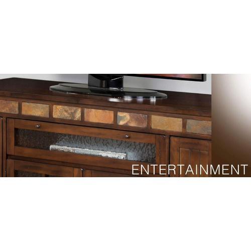 "Santa Fe 62"" Counter Height TV Console"