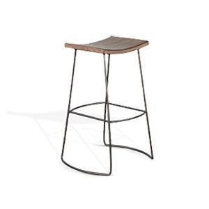 "Sunny Designs - 30""H Stool, Wood Seat"