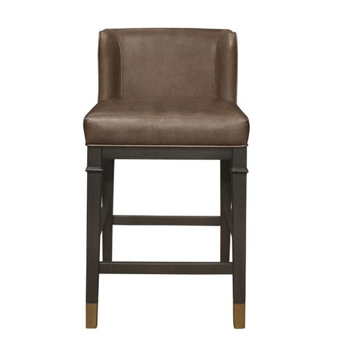 Hillsdale Furniture - Hotchner Wing Back Upholstered Wood Counter Height Stool