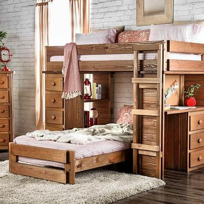 See Details - Beckford Twin/twin Loft Bed