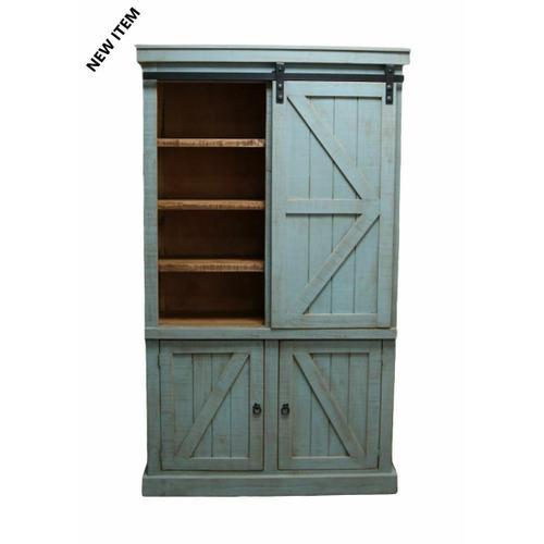 Million Dollar Rustic - Tiffany Blue Urban Bookcase