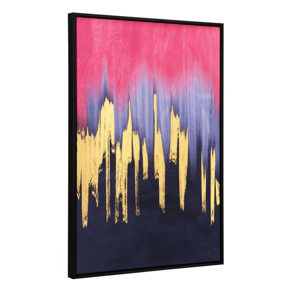 See Details - Sunset Wave Canvas Wall Art Multicolor