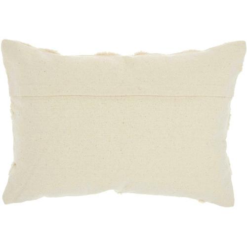 "Life Styles Gt022 Cream 14"" X 20"" Throw Pillow"